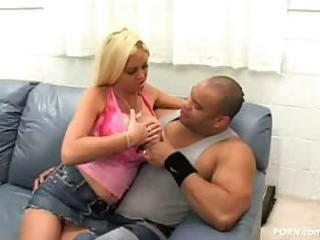 breasty mother i carson - interracial team fuck