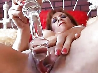 marvelous mature redhead is feeling concupiscent