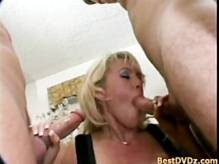 lewd golden-haired d like to fuck enjoying jocks