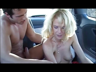 Gorgeous german mature fucked by young stud