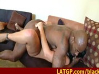 older pornstar receives drilled by black monster