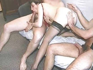 french amateur mature group-sex