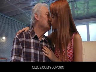 juvenile erica copulates the old old man