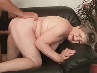 fat grandma enjoying naughty sex