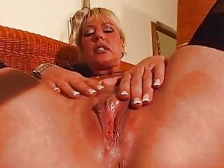 older blond enjoys her own body dbm movie