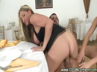 cfnm milfs have a ramrod riding fuckfest