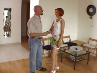 non-professional astonishing redhead hawt wife