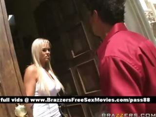 fantastic blonde wife gets screwed by her older