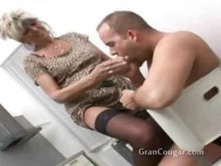 hot old granny craves him now and wont stop til