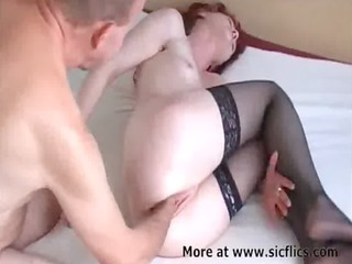 fist fucking my wifes loose snatch