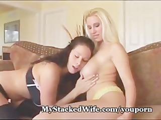 biggest titted lesbians belt it is on!