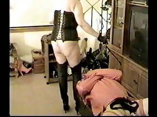 mighty mistresses discipline their slaves with