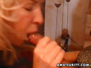 aged dilettante wife home full blowjob with jizz