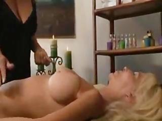 Milf and mature lesbian massage